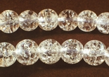 Magical 6mm Crackle Rock Crystal Beads - For Classy Jewellery!